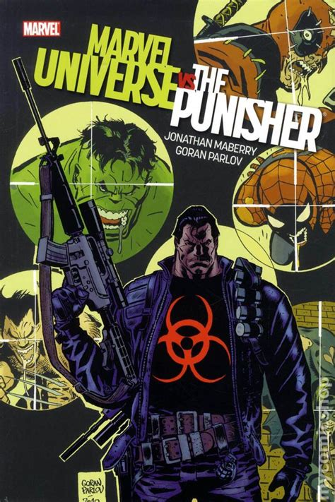 punisher vs the marvel marvel universe vs punisher hc 2010 comic books