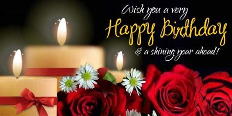 Showering Birthday Smiles & Blessings. Free Happy Birthday