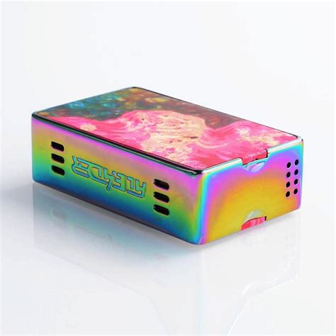 Aleader Funky 160w Authentic authentic aleader funky 160w rainbow ss stable wood tc vw box mod