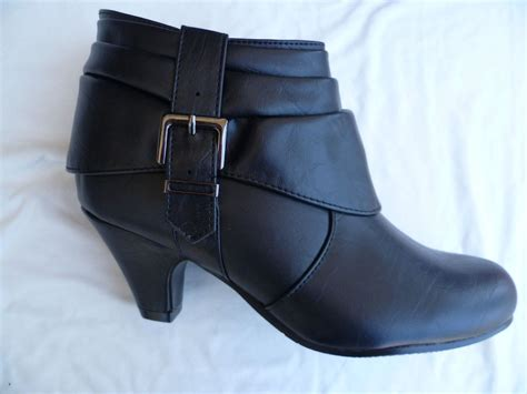 new black boots shoes youth size 9 4 ebay