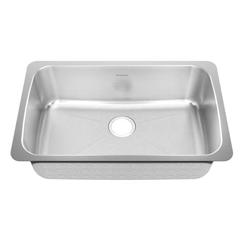 American Kitchen Sink Shop American Standard Prevoir 18 Single Basin Undermount Stainless Steel Kitchen Sink At
