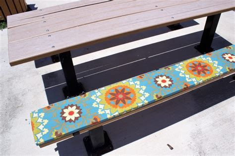 picnic bench cushion picnic table seat cushions velcromag