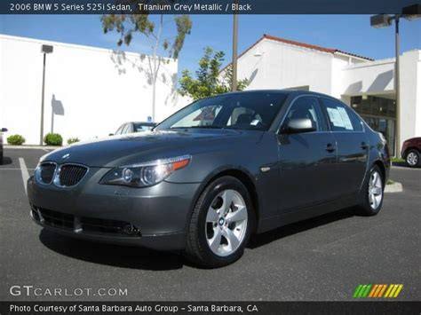 2006 bmw 525i change titanium grey metallic 2006 bmw 5 series 525i sedan