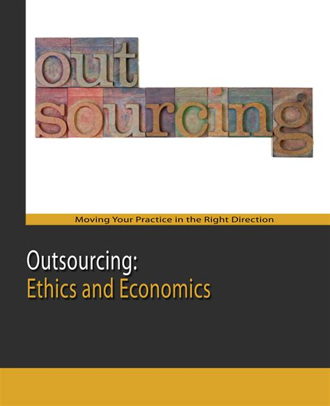 Aba Formal Credit Outsourcing Ethics And Economics