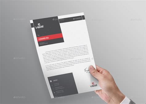 Business Letterhead Paper 15 creative professional letterhead template word
