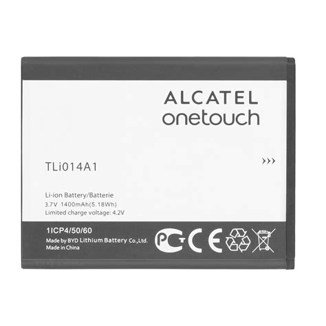 1 8 X 1 4 014 A Konektor Ro alcatel tli014a1 battery for onetouch a4c