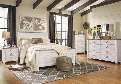 queen bedroom suit willowton bedroom suite dock86
