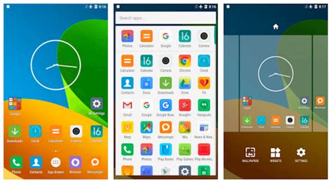 mi launcher themes download 7 best lightweight android launchers under 5mb for 2018