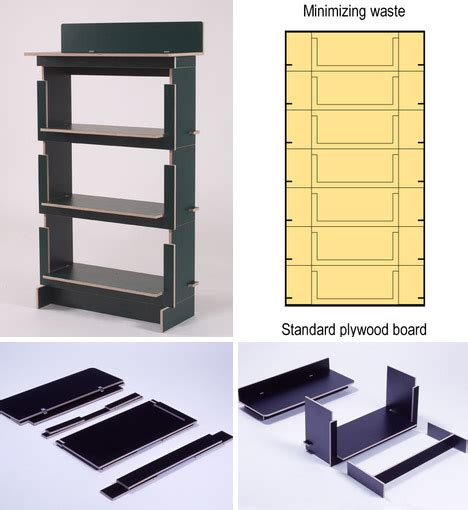 flat pack bookshelves flat packed furniture features tool free diy construction