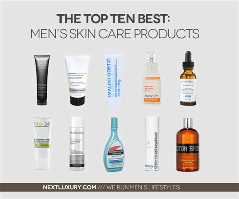 12 Top Mens Skin Care Products by Top 10 Best S Skin Care Products For 2013 Next Luxury