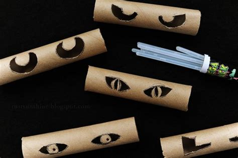 How To Make Sticks With Toilet Paper Rolls - cool diy decorations