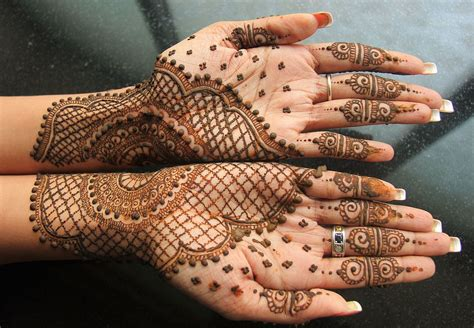 indian henna hand tattoo designs mehndi
