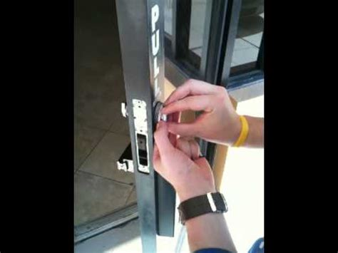 How To Change Commercial Door Lock by Changing A Commercial Lock