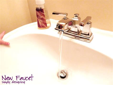installing bathroom fixtures how to install a new bathroom sink faucet 28 images