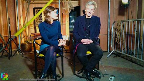 doctor who season 2015 doctor who peter capaldi jenna coleman s on set briefing