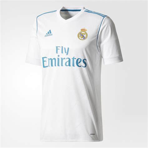 Jersey Real Madrid Home New 2017 2018 1 Set Celana Kaos Kaki nueva camiseta real madrid 2017 2018 real madrid