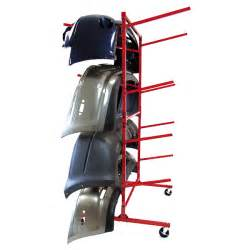 mobile bumper storage rack innovative tools