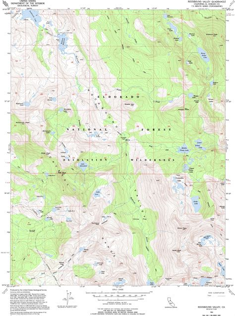 map of the valley isle 9th edition reference rockbound valley topographic map ca usgs topo 38120h2