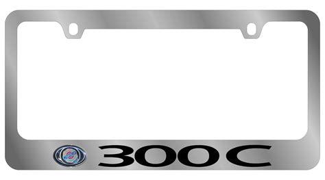 chrysler 300 license plate frame chrysler license plate frame chrysler 300c plates