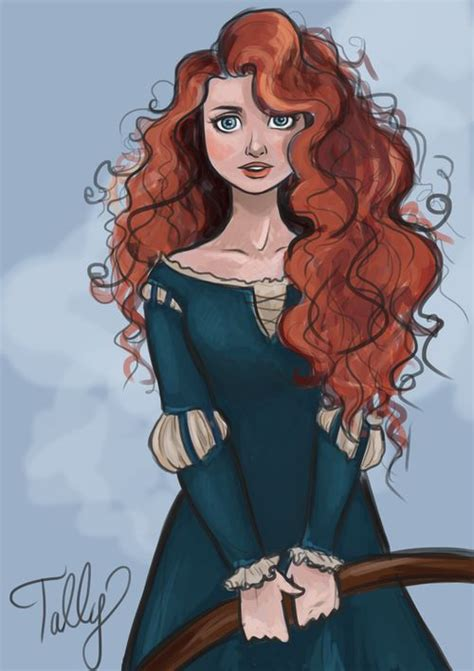 301 best images about fan art on pinterest jackie brown this disney fanart of merida is just so pretty film
