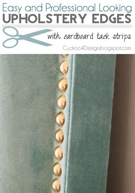 Using Upholstery Tack Strips by 1000 Ideas About Clean Upholstery On Cleaning