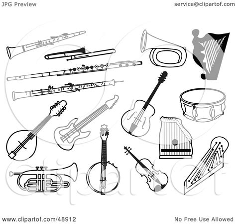 coloring pages of string instruments string instruments coloring pages