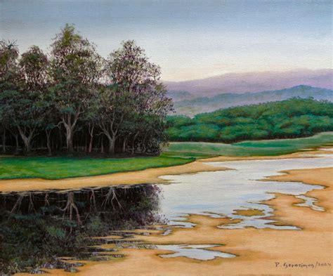 Landscape Paintings Australia Australian Landscape Paintings Pictures Glenrowan