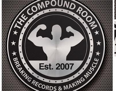 icon design lisburn compound room gym logo on behance