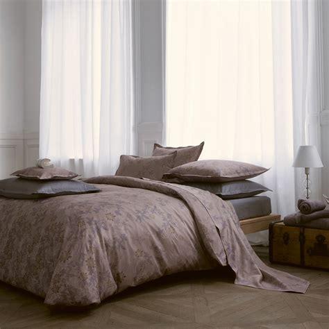 deco bed linen alexandre turpault aurore sateen cotton duvet shams