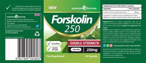 Evolution Slimming Detox Plus Reviews by Forskolin 250 Strength 250mg 120 Capsules In