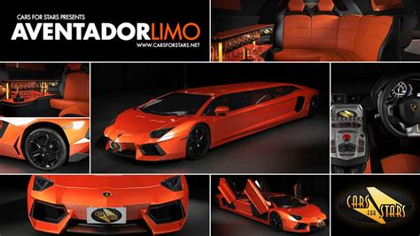 limousine lamborghini will the lamborghini aventador be turned in a stretch limo
