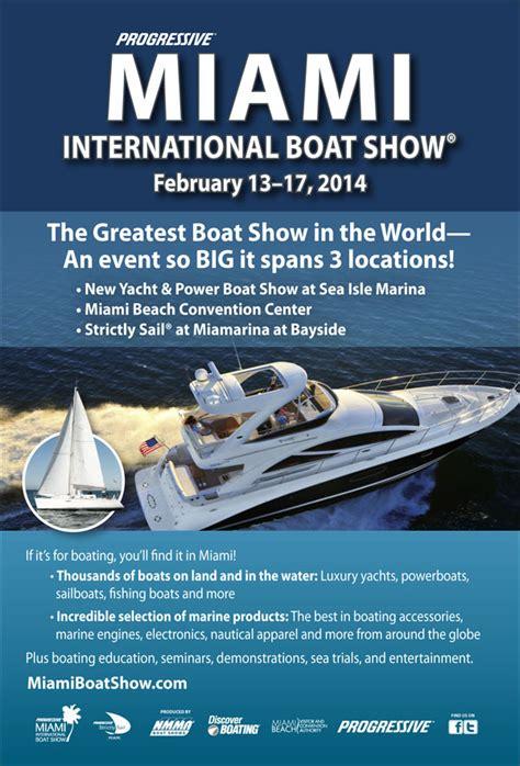 nmma miami boat show progressive insurance miami international boat show nmma