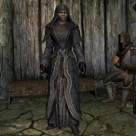 skyrim robes playable greybeard robe at skyrim nexus mods and community