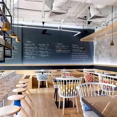 desain meja kasir minimalis meja kasir futuristik penuh gaya untuk coffee shop