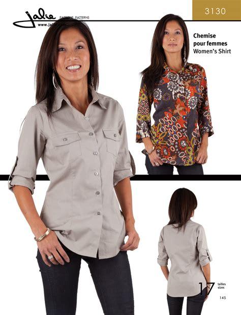 sewing pattern womens shirt jalie 3130 women s shirt