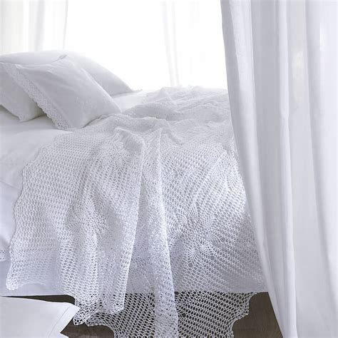 white lace bedding marcella white lace cotton duvet cover by marquis dawe