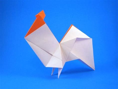 Origami Rooster - rooster origami origami