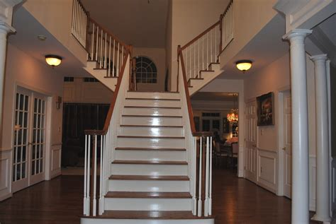 Open Foyer Design Help With Paint In A 2 Story Foyer With An Open Floor Plan