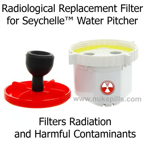 seychelle radiological filter radiological replacement filter for seychelle water pitcher