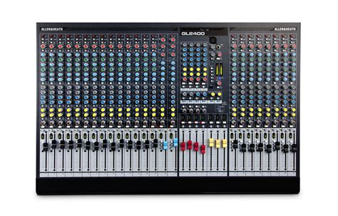 Mixer Allen Heath Gl2400 24 gl2400 allen heath