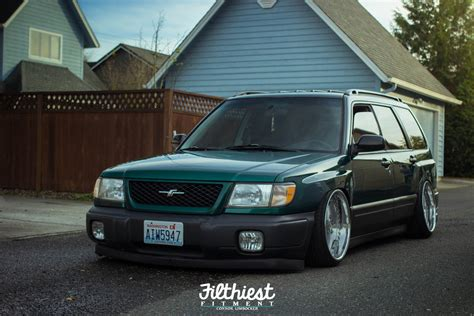 stanced subaru forester image gallery stanced forester