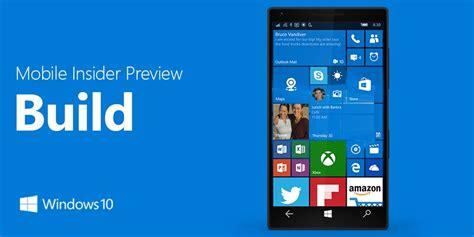 windows 10 mobile build 14356 changelog