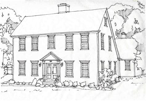saltbox house plans designs classic colonial homesclassic colonial homes