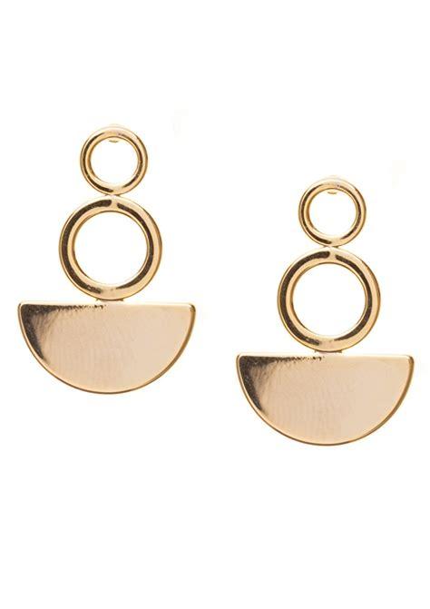 Geometric Earrings modern geometric earrings happiness boutique