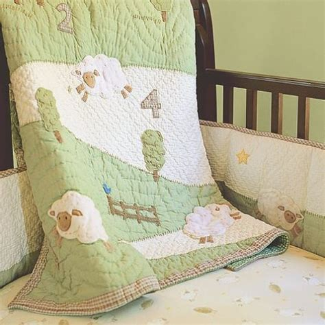sheep comforter baby sheep bedding baby love one day