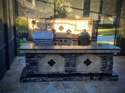 Outdoor Kitchen Backsplash outdoor kitchen backsplash kitchen decor design ideas
