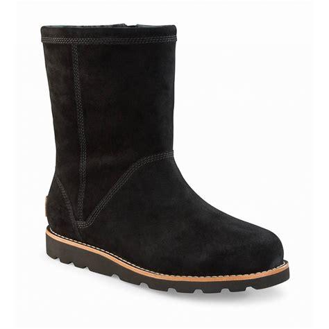 ugg australia selia black ankle boots footwear from