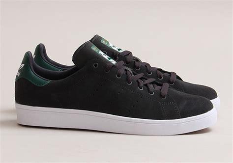 Kaos Adidas Sb Black adidas skateboarding stan smith vulc black forest green sneakernews