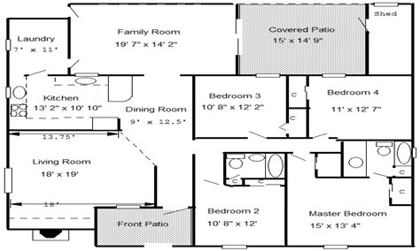 house floor plan with measurements create floor plan with dimensions sensational easy plans luxamcc