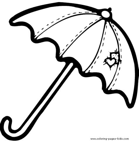 umbrella coloring pages printable umbrella coloring pages rainwear